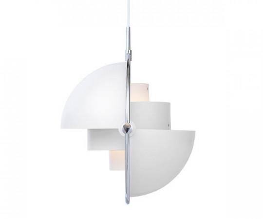 Gubi Multi-Lite - hvid/krom