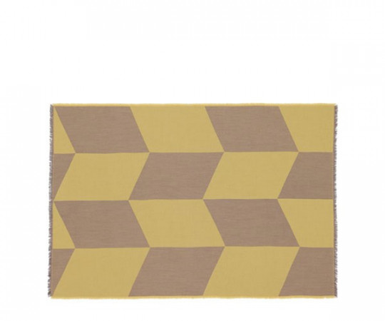 Muuto Sway Plaid - Mustard