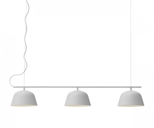 Muuto ambit rail lampe pendel grå