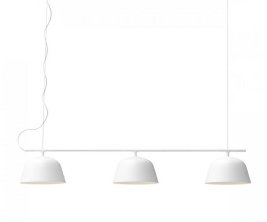 Muuto ambit rail lampe pendel hvid