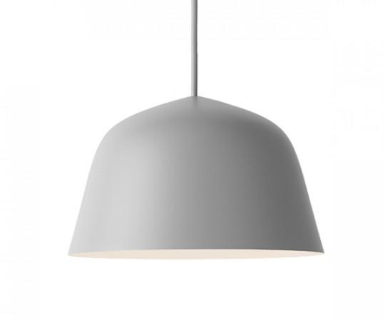Muuto Ambit Pendel Lampe - Small - Grey