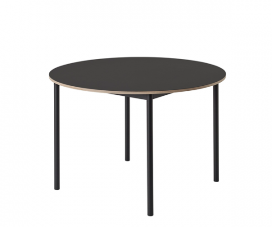 Muuto Base Table - Dia.110cm - Sort