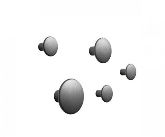 MUUTO The Dots Sæt Sort Aluminium