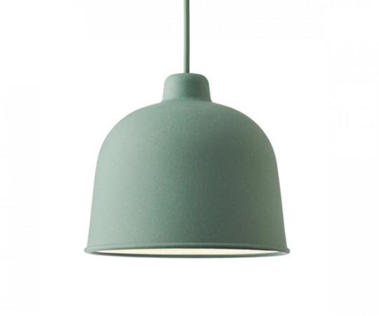 Muuto Grain Pendel Lampe - Dusty Green