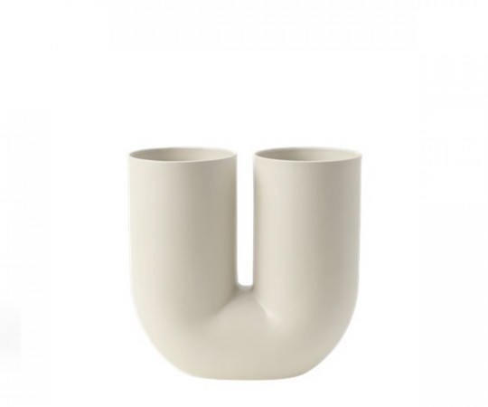 Muuto Kink Vase - H27 - Sand