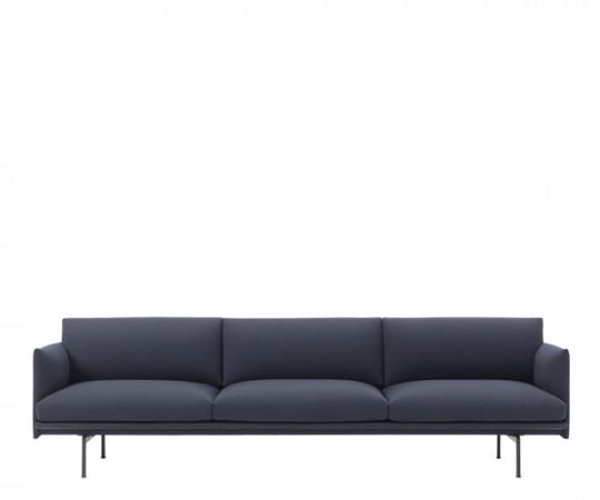 muuto outline sofa 3,5 p vidar 554