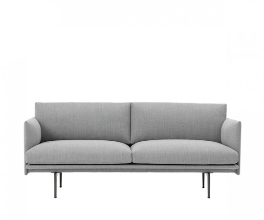 Muuto - Outline Sofa - 2-pers. - Fiord 151 - Stof