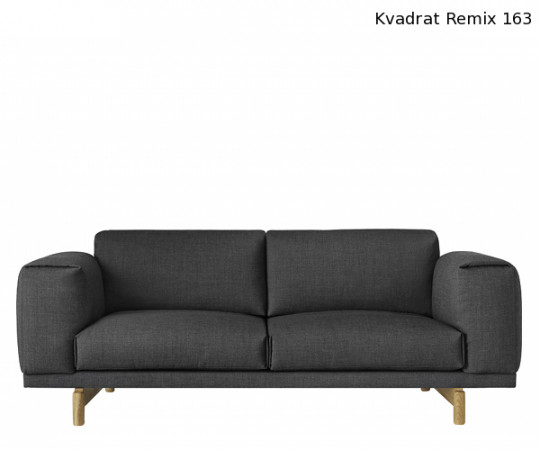 Muuto Rest Sofa 2 Pers - Steelcut Trio