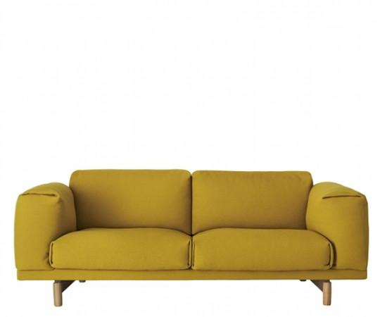 Muuto Rest Sofa 2 Pers - Hallingdal 457