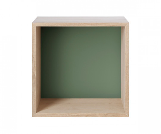 MUUTO Stacked Modul Medium med Bagbeklædning i Green
