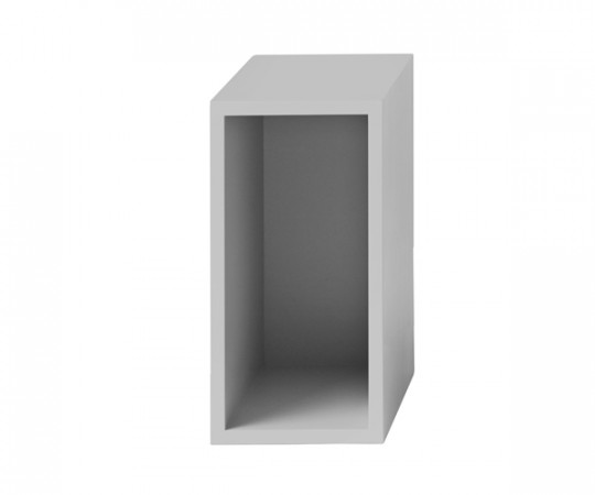 MUUTO Stacked Modul Small med Bagbeklædning Light Grey