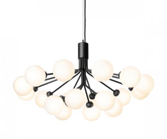 Nurra Apiales 18 Lampe - Satin Black