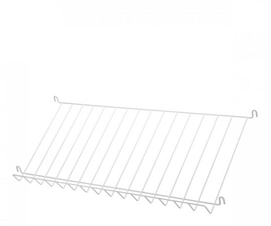 String Magazin Hylde - Metal - Hvid