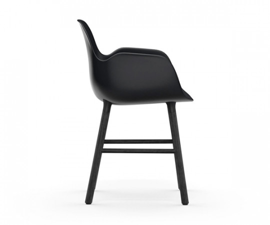 Normann Copenhagen Form Armchair - Sort/Sort