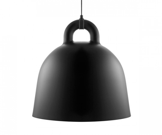 Normann Copenhagen Bell Lamp Large Black