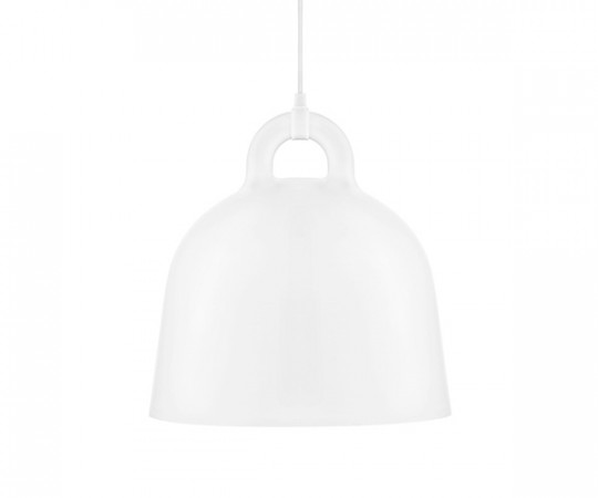 Normann Copenhagen Bell Lamp Medium White
