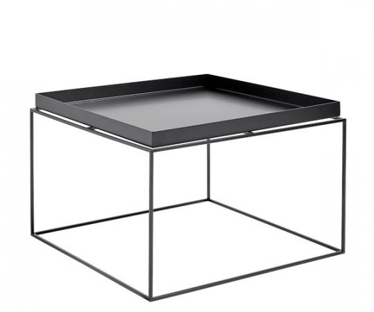 HAY Tray Table - 60x60cm - Sort