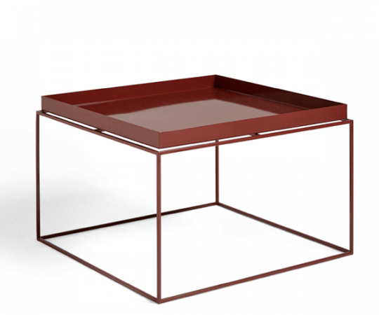 HAY Tray Table - 60x60cm - Chocolate