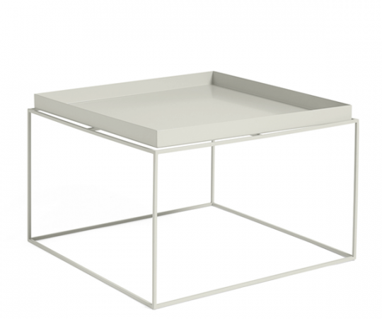 HAY Tray Table - 60x60cm - Warm Grey