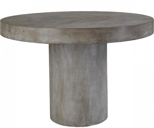 rundt fiber cement spisebord klint