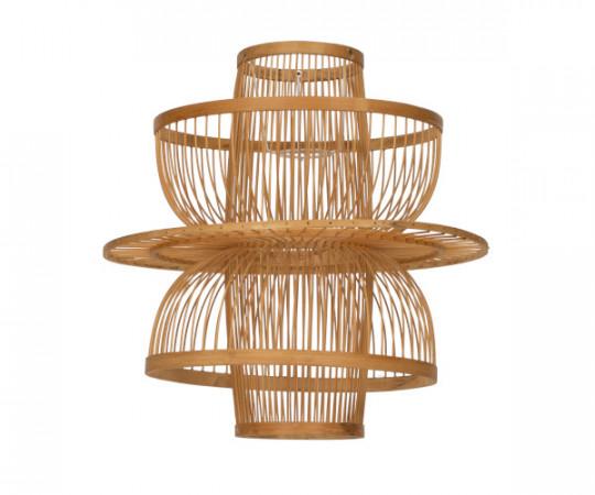 oi soi soi bambus rattan lampe