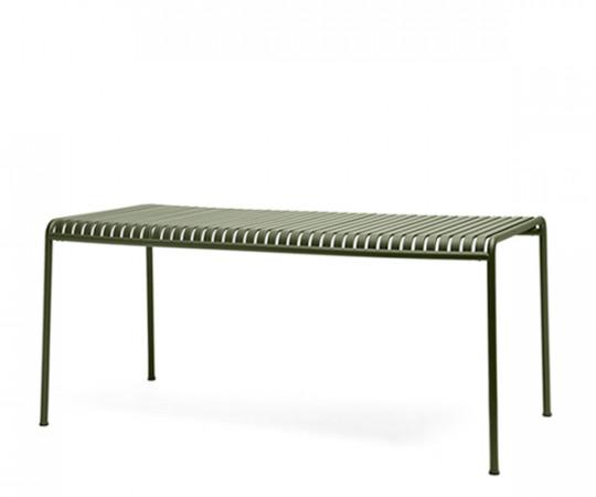 HAY Palissade Spisebord -170x90 - Olive