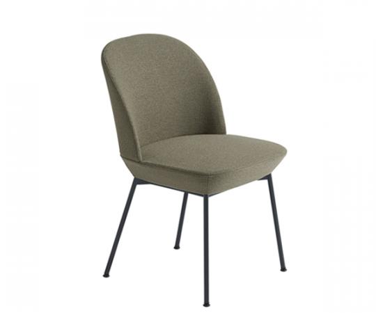 Muuto Oslo Side Chair - Ocean 21/Anthracite Black