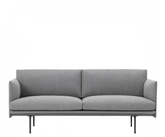 Muuto - Outline Sofa - 2-pers. - Fiord 151