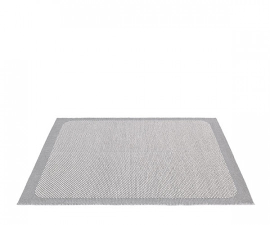 Muuto Pebble Tæppe - Light Grey - 200x300cm.