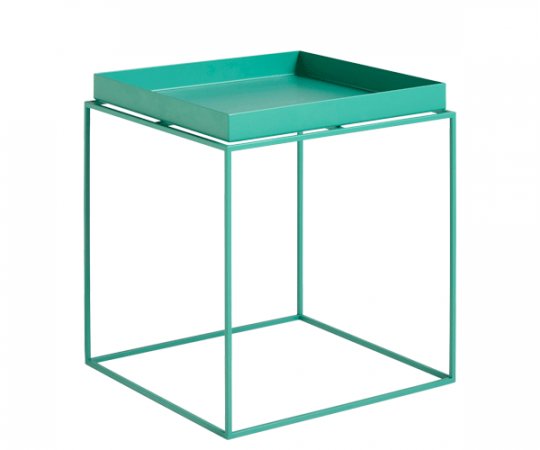 HAY Tray Table - 40x40cm - Peppermint Green