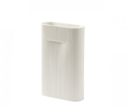 Muuto Ridge Vase - Off-White - Small