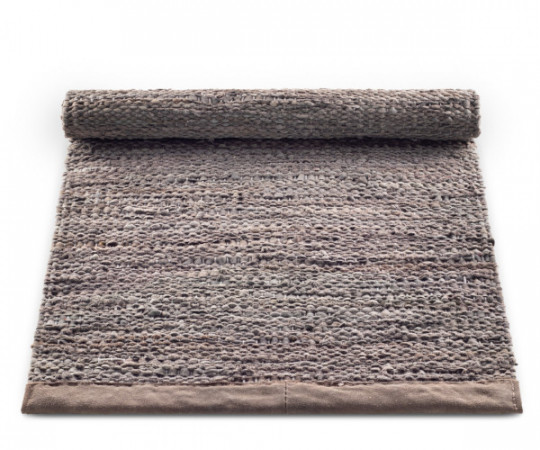 rug solid wood leather rug