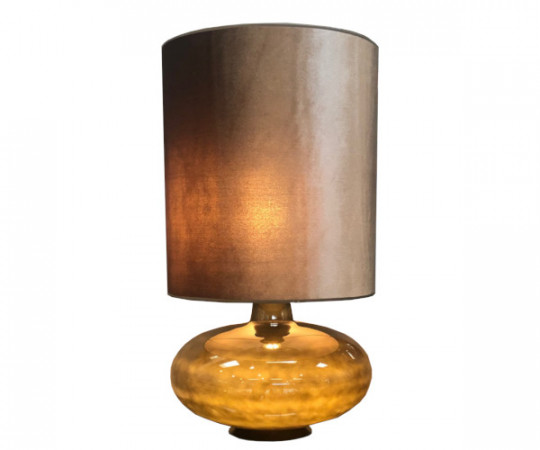 sandy flavia lampe velour skærm