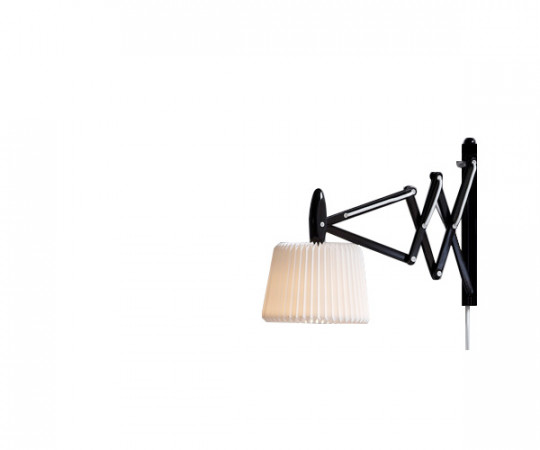 Le Klint 335-120 sax væglampe sort