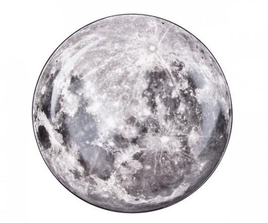 Seletti x Diesel Cosmic Dinner - Moon Tallerken