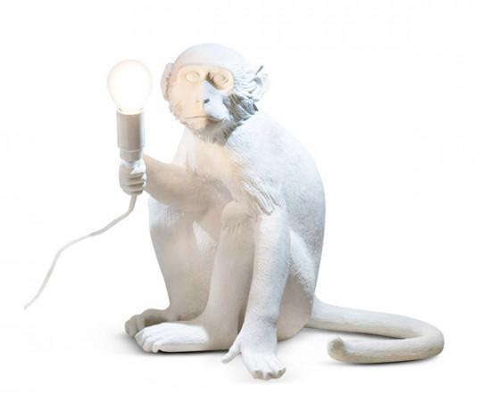 Seletti Monkey Lamp - Sitting
