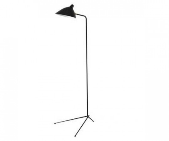 Serge Mouille Standing Lamp 3 Rotating Arms - LD