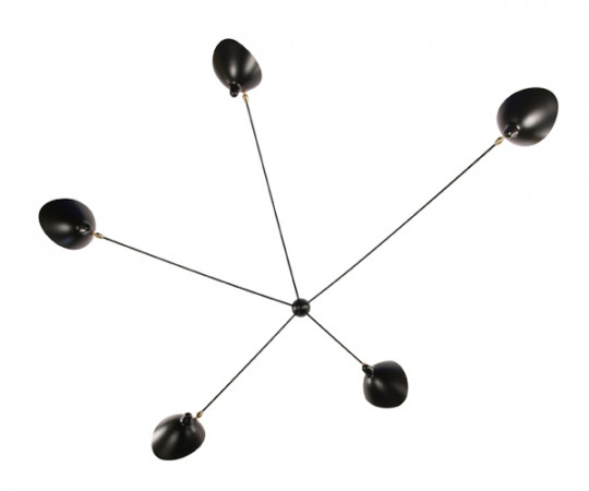 Serge Mouille wall Lamp 5