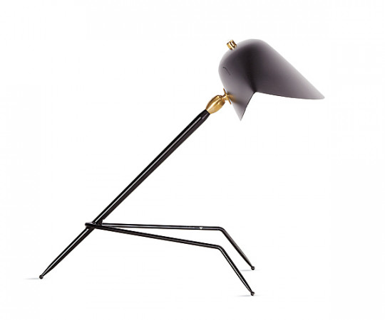 Serge Mouille  tripod bordlampe