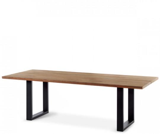 Mølballe Sevilla Spisebord med sorte U-ben - uden tillægsplade