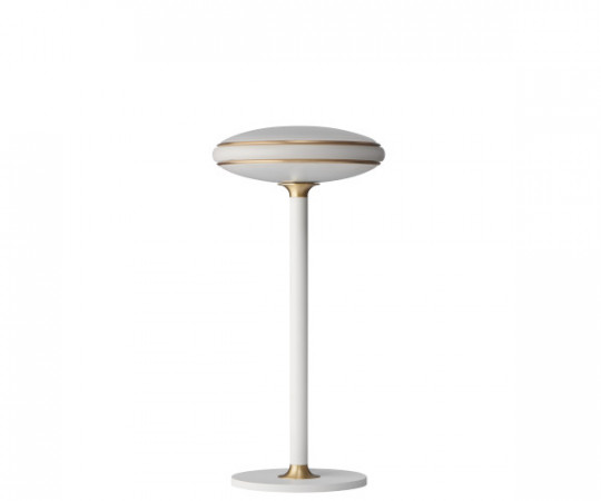 shade bordlampe hvid