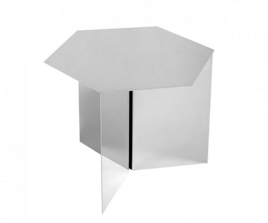 HAY Slit Table - Hexagon spejlglas