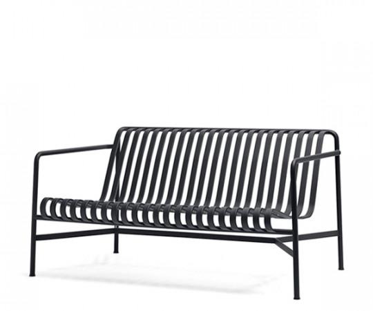 HAY Palissade Lounge Sofa - Anthracite Grå