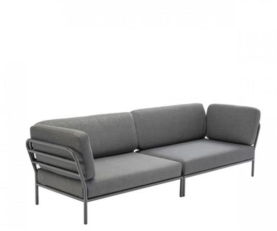 HOUE Level lounge sofa - 2 moduler - dark grey