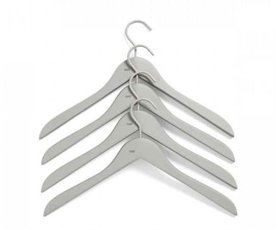 HAY Soft Coat Hanger Slim - Grå