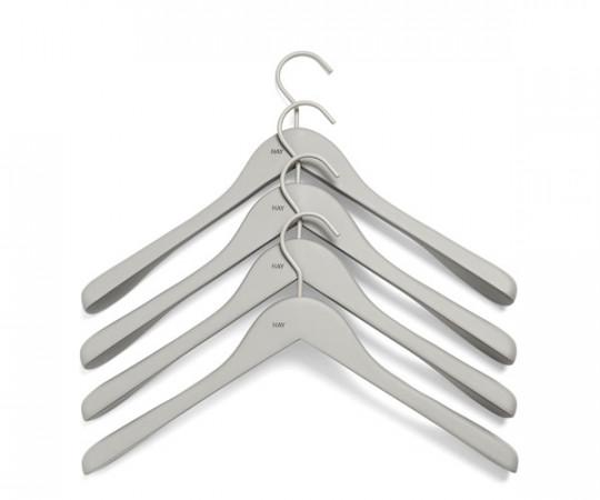HAY Soft Coat Hanger Wide - Grå