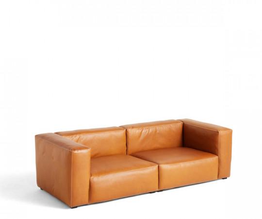 HAY Mags Soft Sofa - Silk Læder - 2 1/2 Pers.