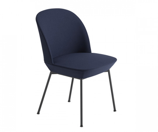 Muuto Oslo Side Chair - Steelcut-2 775/Anthracite