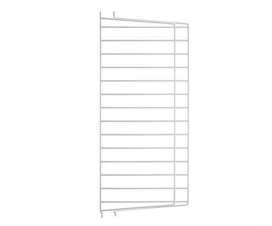 String Gavl 2-pack - Væghængt 75x30 grå