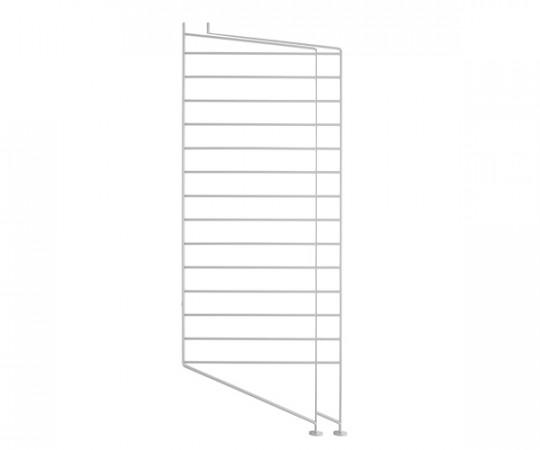 String Gavl 2-pack - Gulv 85x30 cm grå